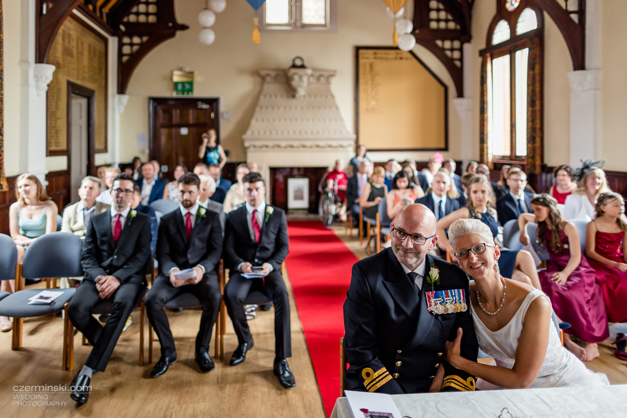 Exmouth town hall wedding