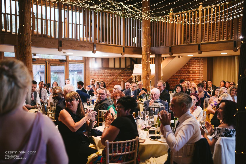 Outdoor Wedding Venue In Epping Essex: Barn Wedding Gaynes Park Essex